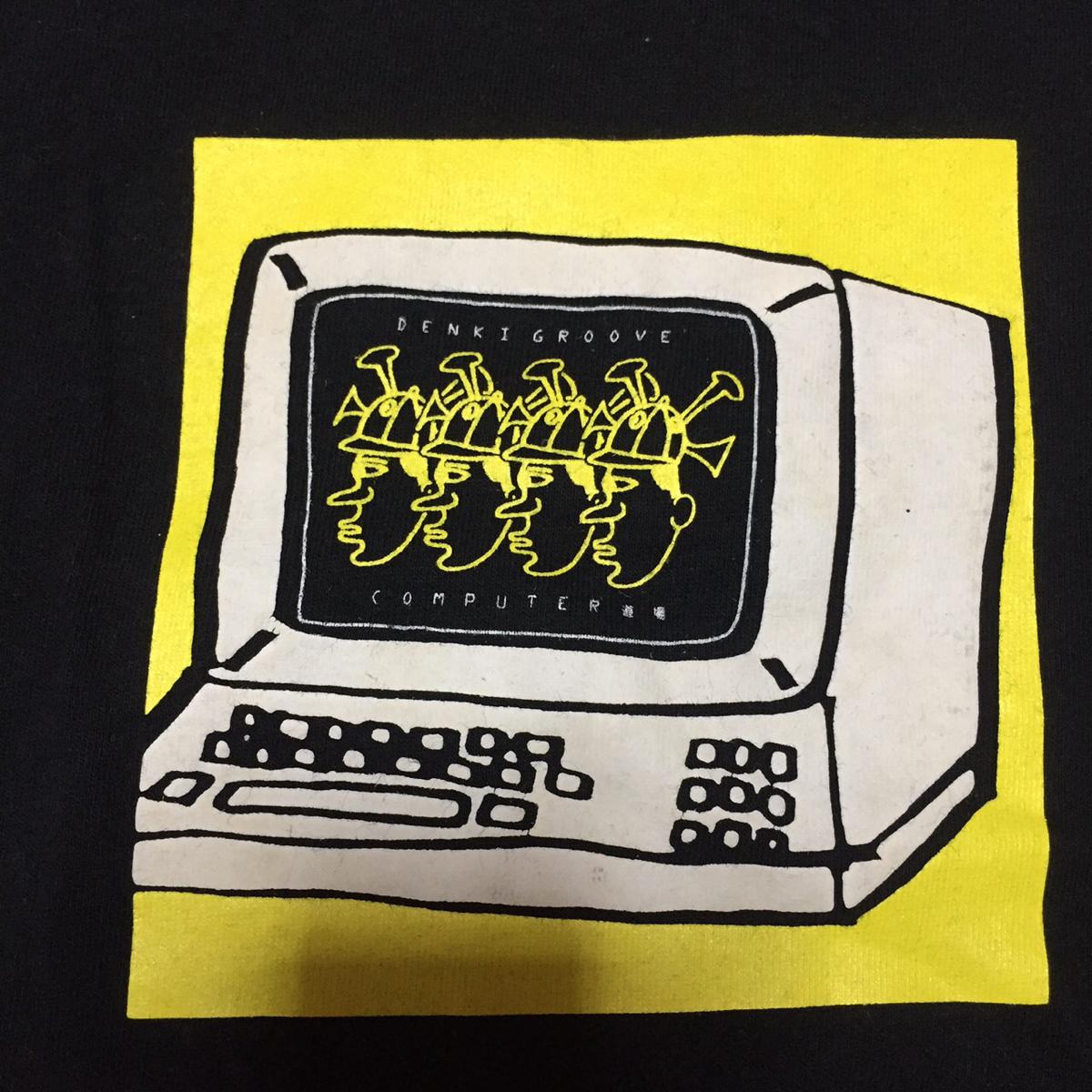レア! 電気グルーヴ Tシャツ ヴィンテージ USA製 石野卓球 ピエール瀧 テクノ バンド ロック ライブグッズの画像