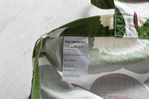 marimekko マリメッコ UNIKKO ウニッコ ケシの花の柄です  トートバッグ トートバック bag_画像2