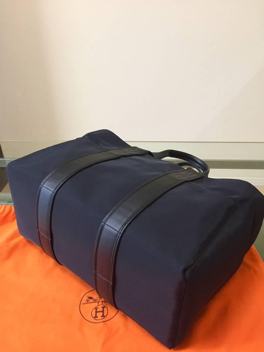 ほぼ新品 エルメス アカプルコMM ブラック バッグ 保存袋付き! HERMES_画像2