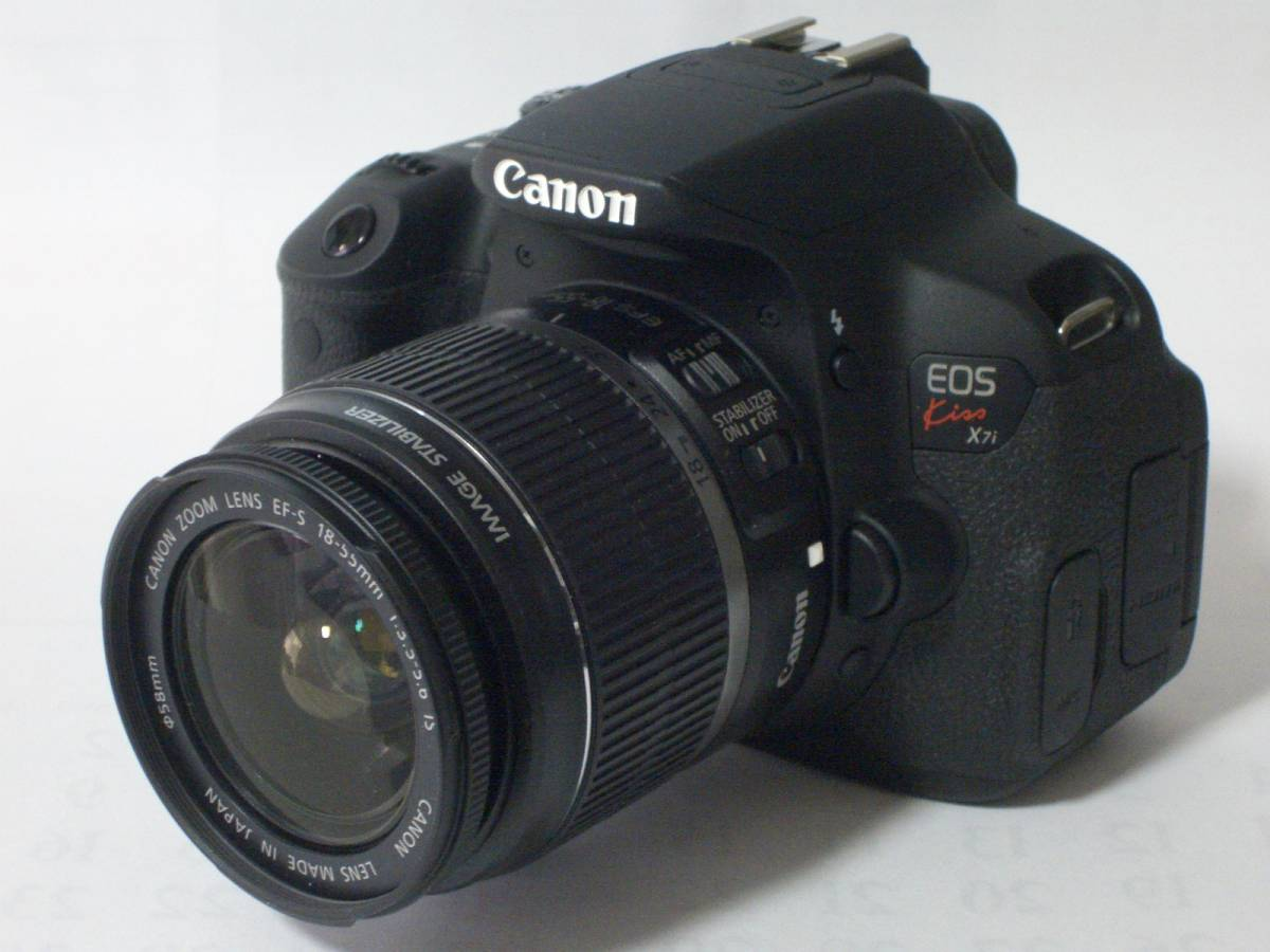 ○○ Canon キャノン EOS Kiss X7i 純正ズ-ムレンズセット ○○