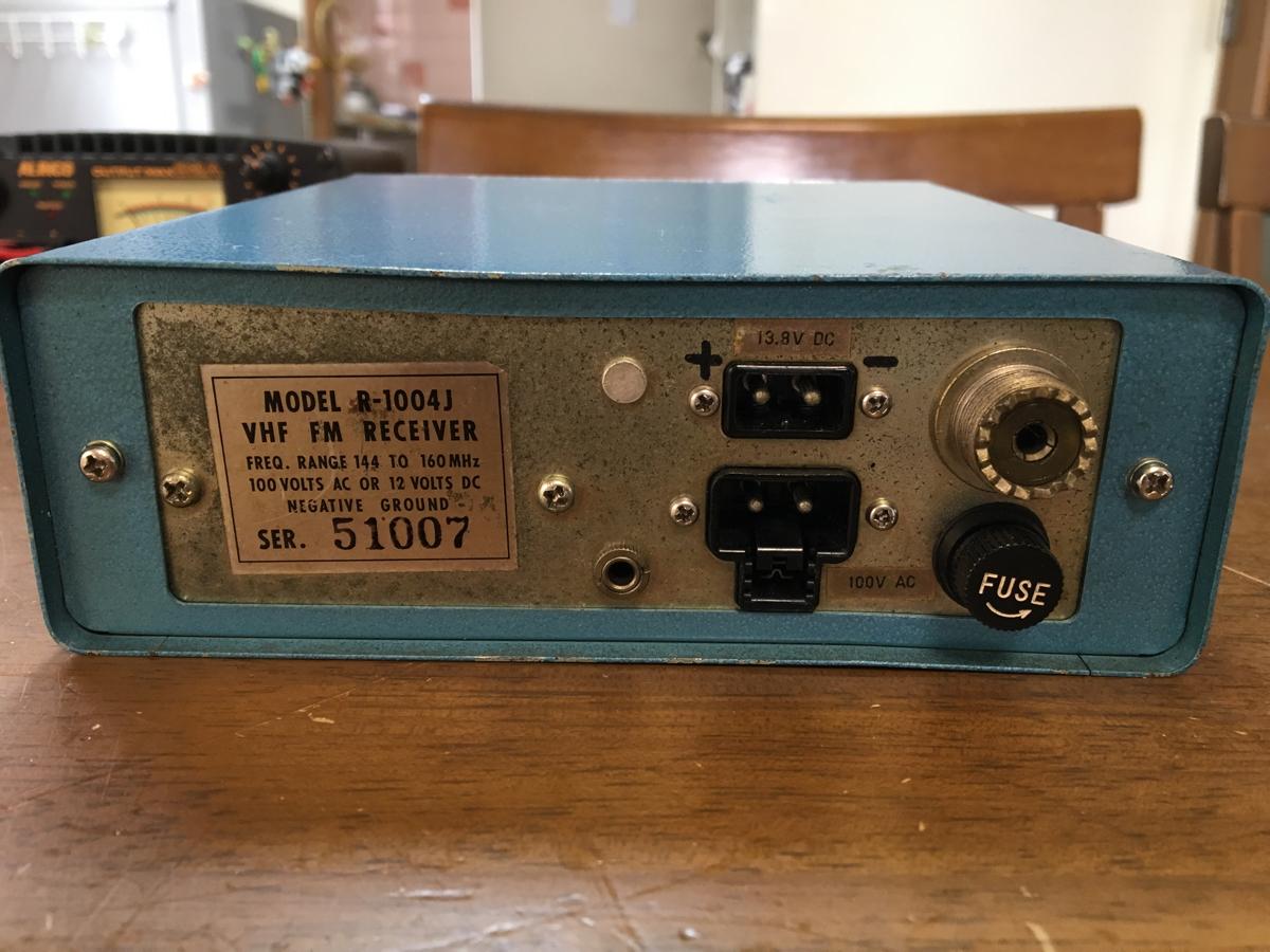 COMNI VHF レシーバー 動作品_画像3