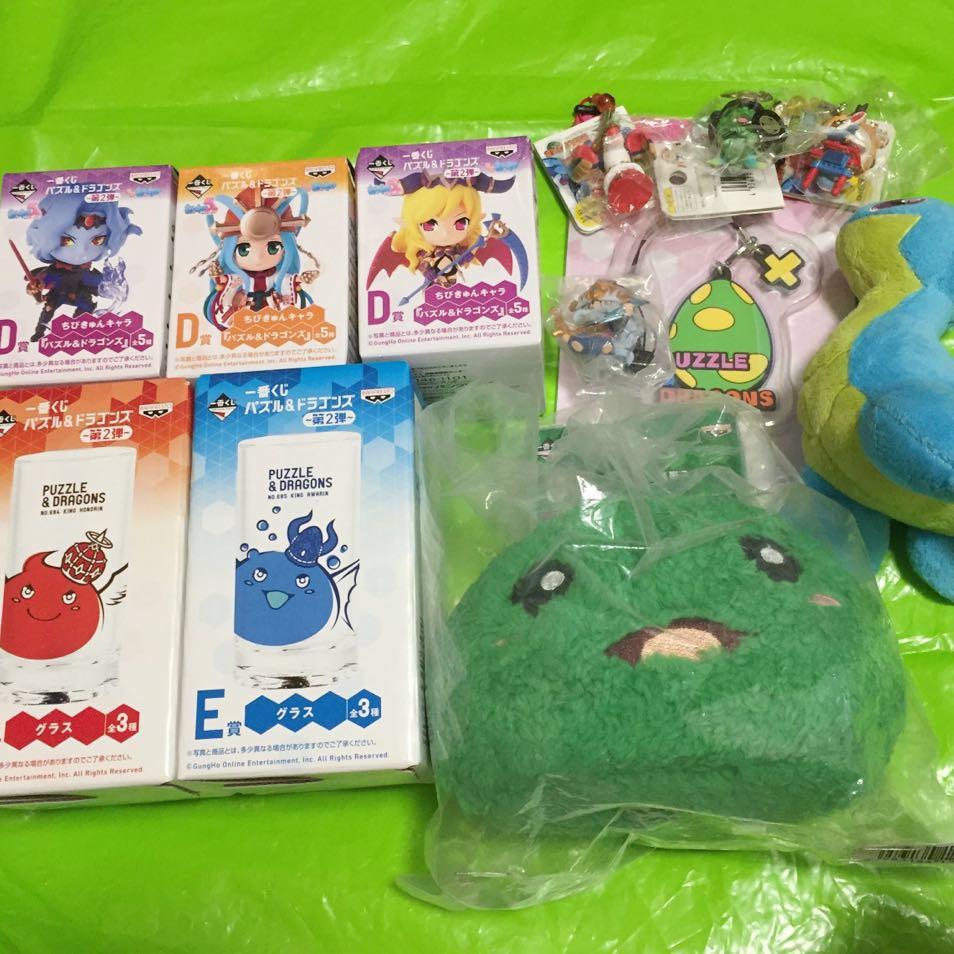 パズドラ パズル&ドラゴンズ D賞 フィギュア まとめ売り グッズの画像