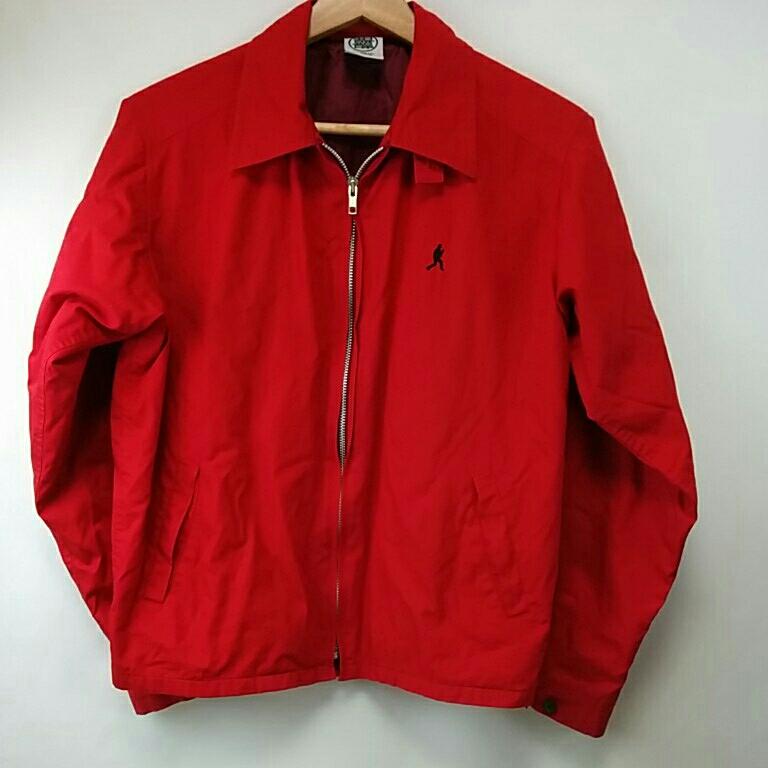 クレイジーケンバンド 赤ブルゾンジャケット 横山剣 Mサイズ 318