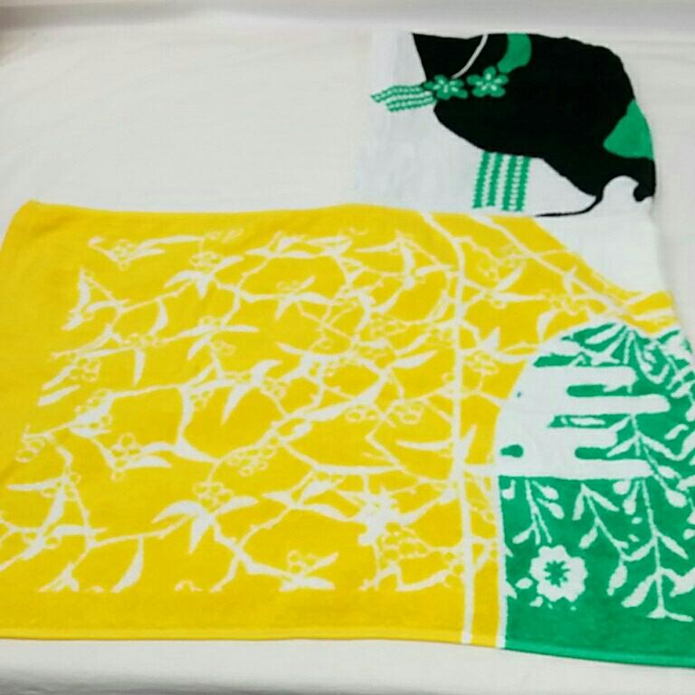 京都大作戦 2012 舞妓フード付きタオル 氣志團 MAN WITH A MISSION 10-FEET dustbox ケツメイシ くるり グッズ/Tシャツ 2728