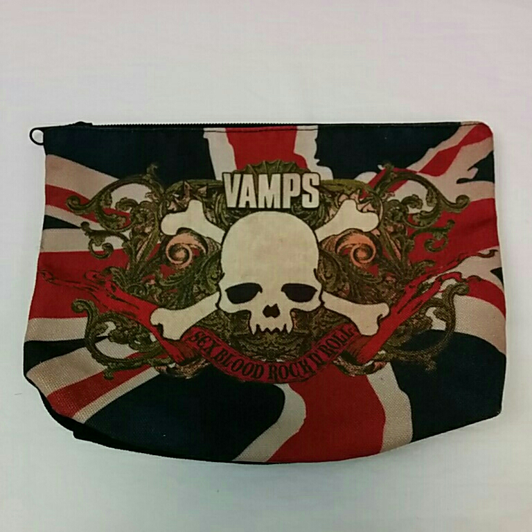 VAMPS 2014 LONDON PRE-LIVE ポーチ hyde ラルク グッズ/タオルTシャツ 2933