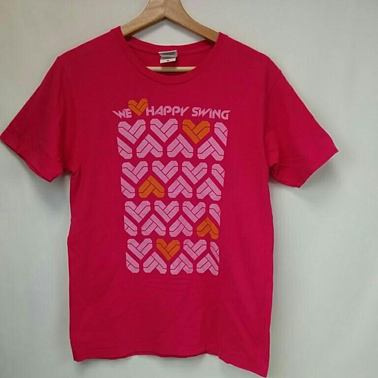 GLAY Happy Swing 15th Tシャツ Mサイズ グレイ 2996