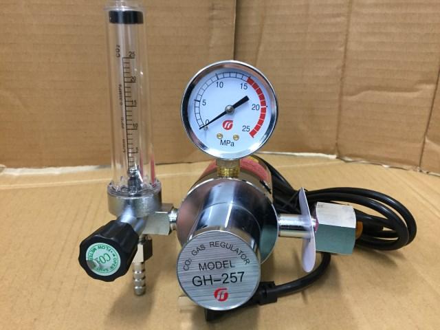 ☆11 炭酸ガス調整器 ヒ-タ-付 新品6ケ月保証します!
