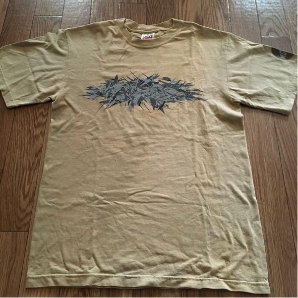 most (phew 山本精一) 濃いめのベージュ S Tシャツ