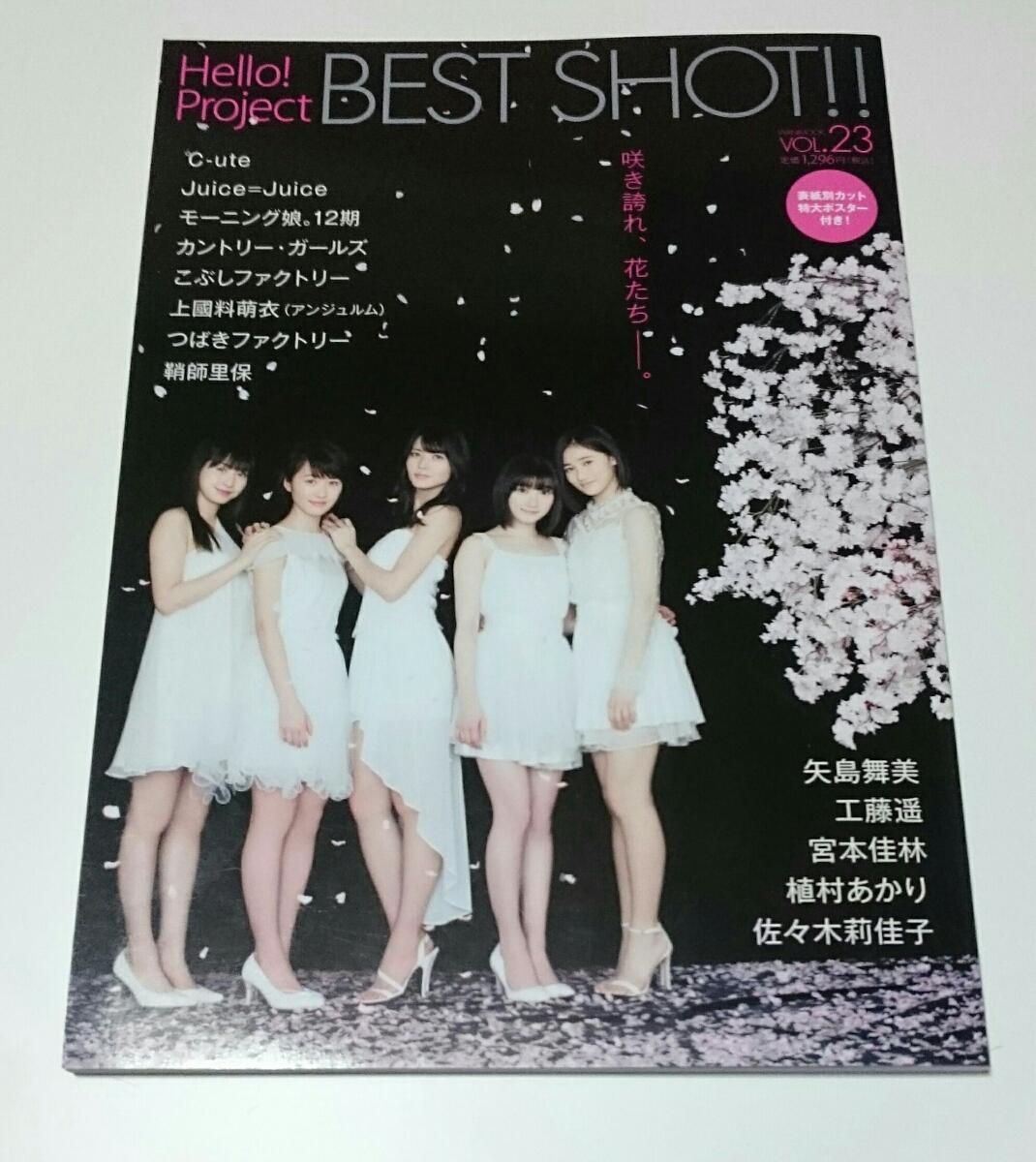 ハロプロ 本 BEST SHOT vol.23 モー娘。 ℃-ute Juice=Juice など