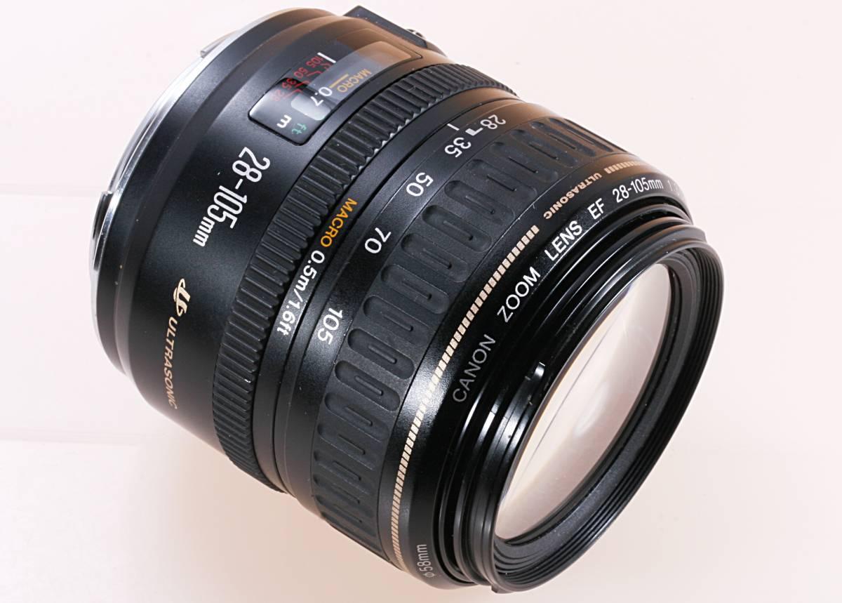 標準ズーム マクロ CANON EF 28-105mm F3.5-4.5 USM ジャンク扱 e 1円~売切り 最低落札価格無