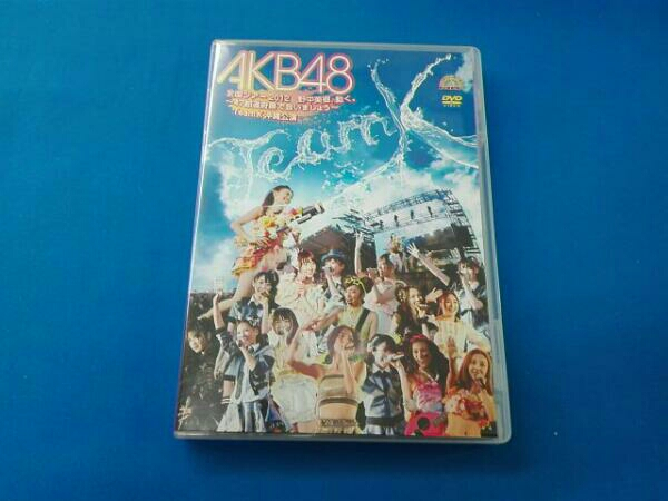 AKB48全国ツアー2012 野中美郷、動く。~47都道府県で会いましょう~TeamK 沖縄公演 ライブ・総選挙グッズの画像
