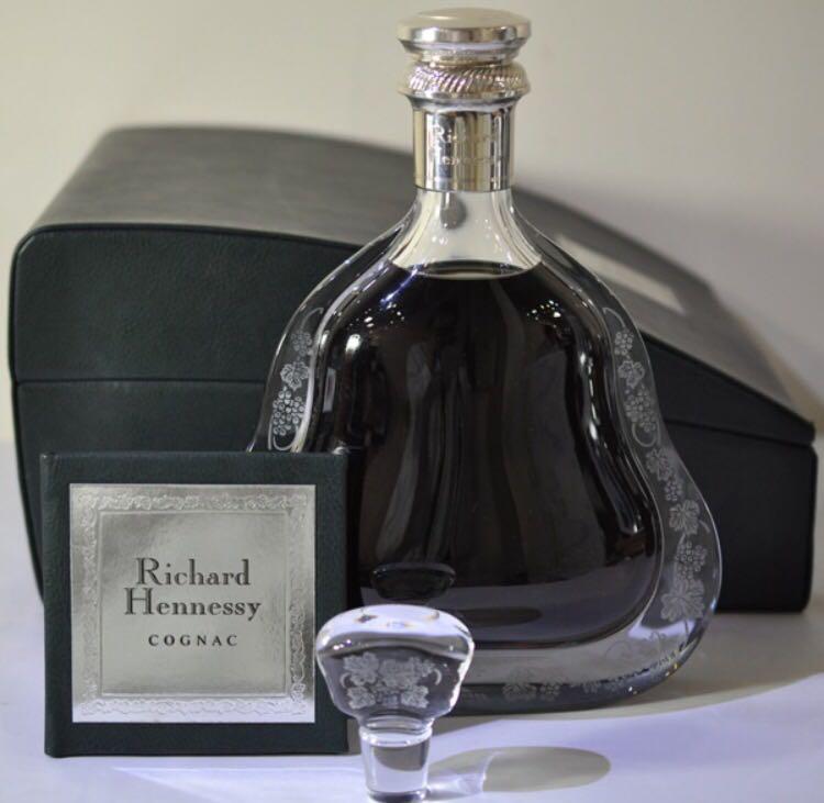 1円~/古酒★ヘネシー Hennessy リシャール バカラ *完備品