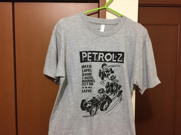 PETROLZ ペトロールズ コースチェック Tシャツ