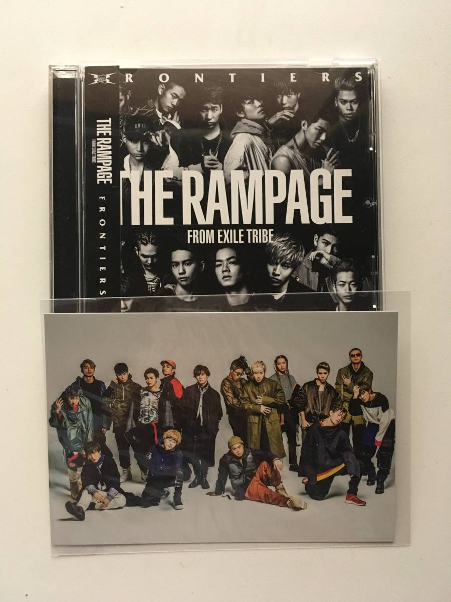 THE RAMPAGE FRONTIERS CD 月刊EXILE定期購読特典ポストカード付き ライブグッズの画像