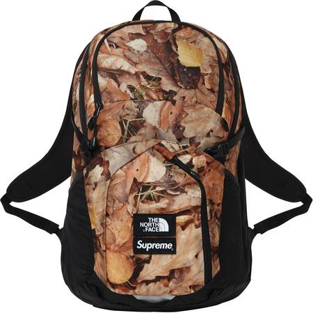 国内正規品新品タグ付き★Supreme 2016 FW AW 16 The North Face Pocono Backpack Leaves 枯葉 リュック バックパック Mountain Jacket