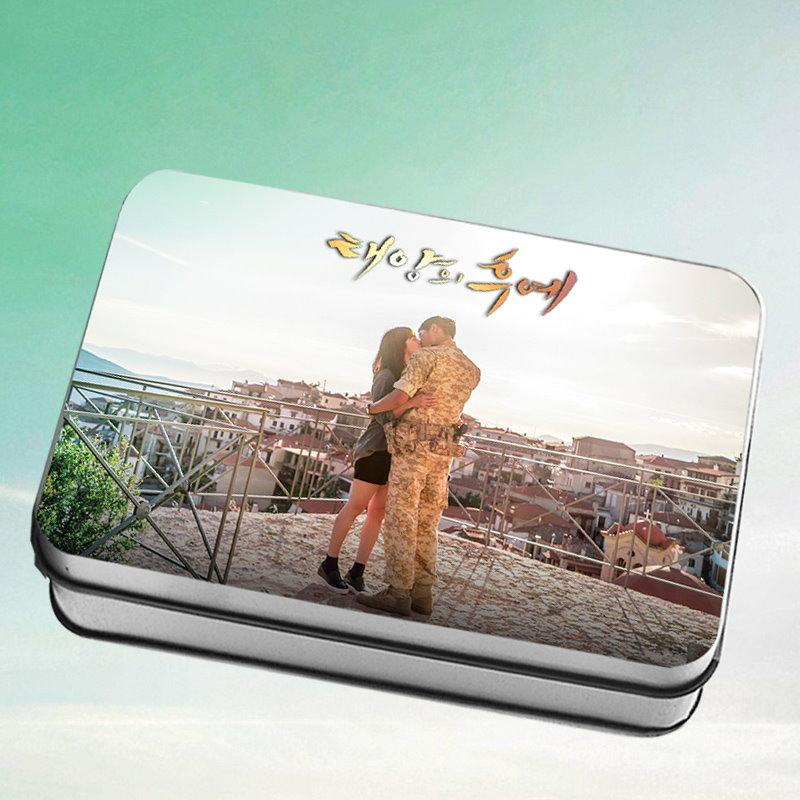 太陽の末裔 ソン・ジュンギ ソン・ヘギョ ミニ写真30枚 (箱付く)B
