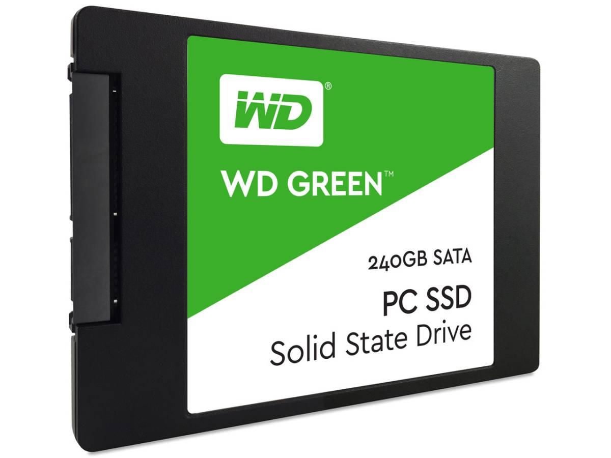 【送料無料】 WD Green SSD 240GB 【新品】 WDS240G1G0A WESTERN DIGITAL WD 2.5インチ 7mm SATA