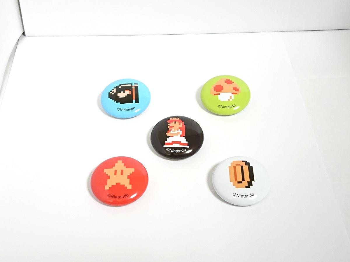 非売品 スーパーマリオオデッセイ 缶バッジ ニンテンドースイッチ スーパーマリオ 25周年アニバーサリー 4