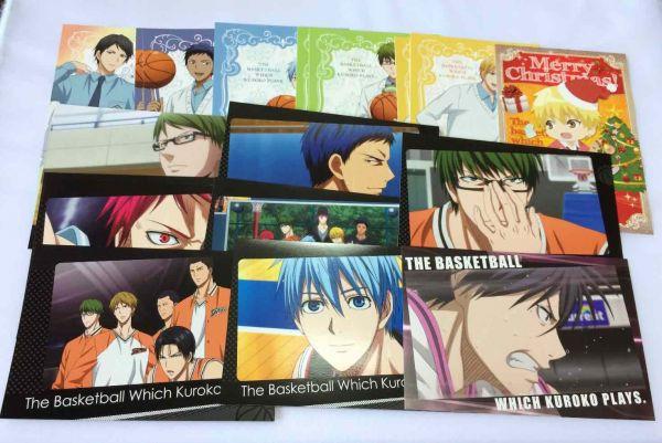 黒子のバスケ ポストカードセット P15907