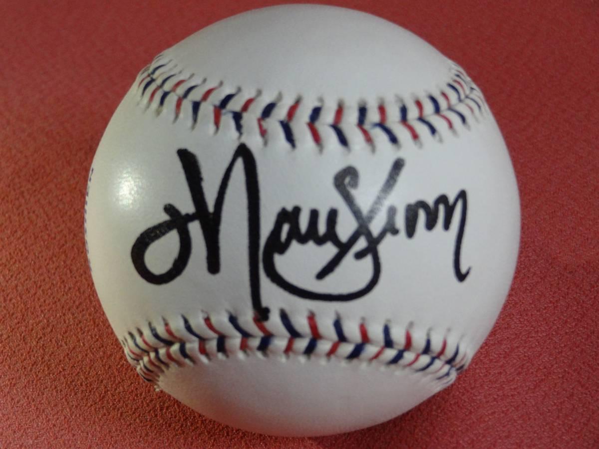 横浜ベイスターズ時代 クルーン投手 2005オールスター球 新品 直筆サイン グッズの画像