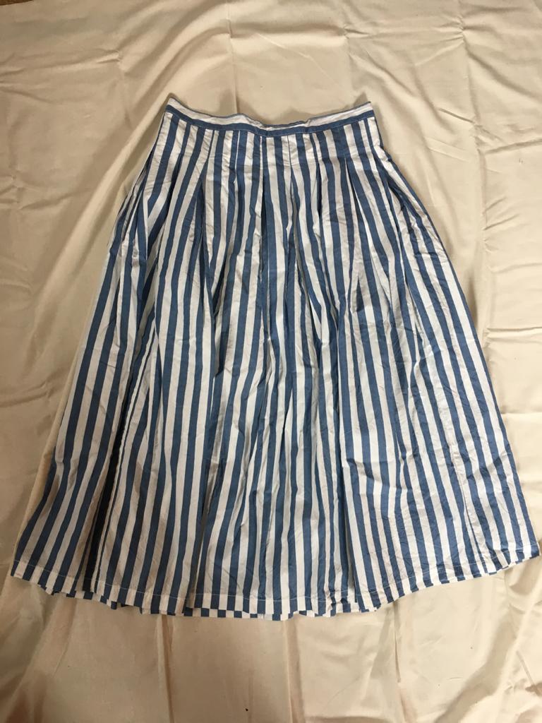 GRANDMA MAMA DAUGHTER グランマママドーター ストライプスカート