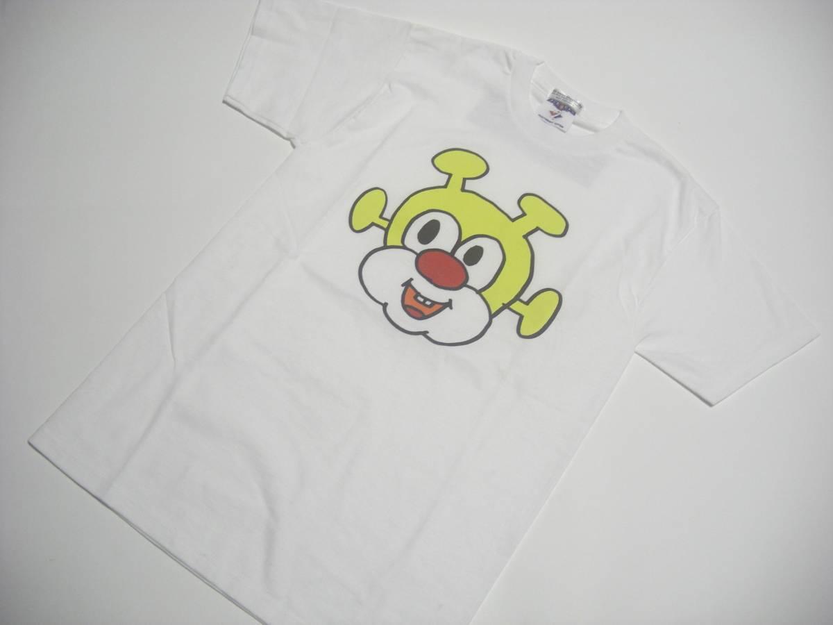 【非売品・未使用】Ki/oon Records 電気グルーヴ VOXXX君プリントTシャツ Mサイズ USA製 半袖トップス 白ホワイト 定形外郵便発送