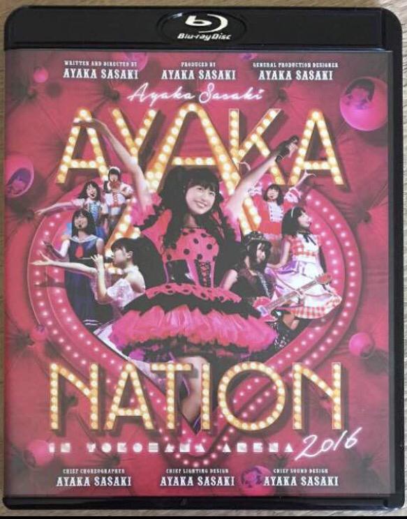 ☆即決☆ ももいろクローバーZ 佐々木彩夏 AYAKA-NATION 2016 in 横浜アリーナ LIVE Blu-ray ライブグッズの画像