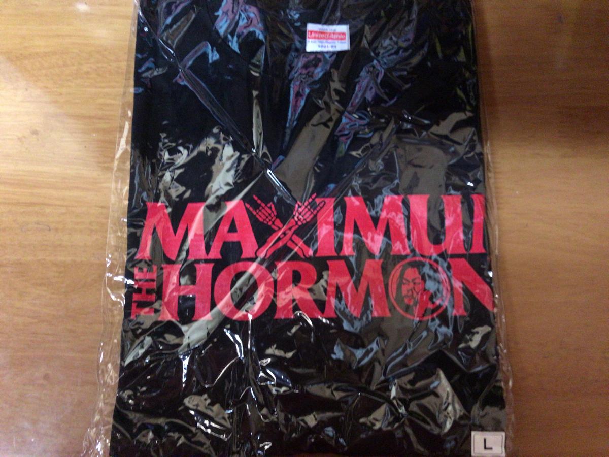 マキシマムザホルモン 腹ペコCREW Tシャツ Lサイズ  MAXIMUM THE HORMONE ライブ 新品 ライブグッズの画像