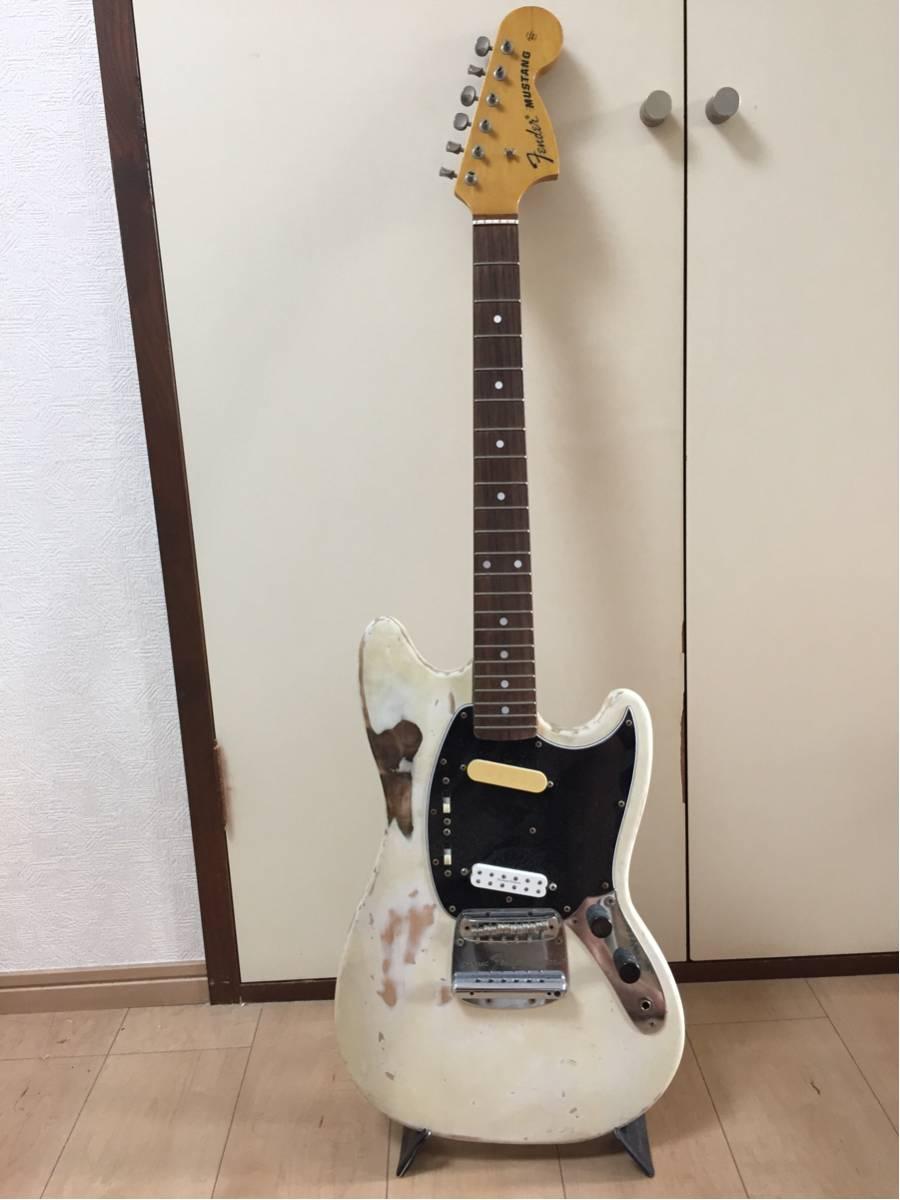 Fender 1994年製ムスタング リアPU交換 レリック