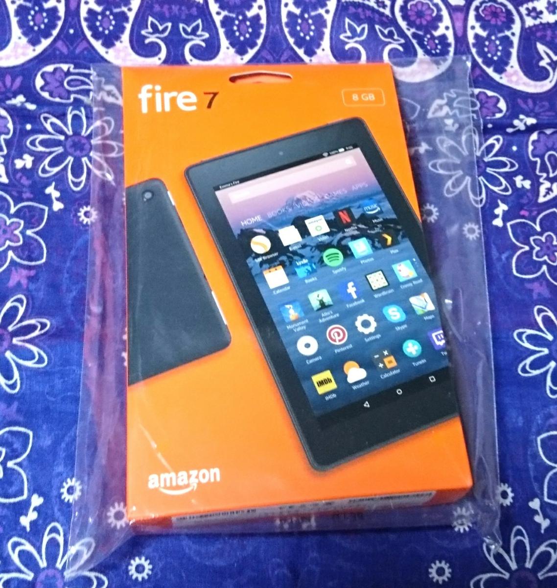 【即決】新品未開封 kindle Fire7 タブレット Newモデル 8GB ブラック