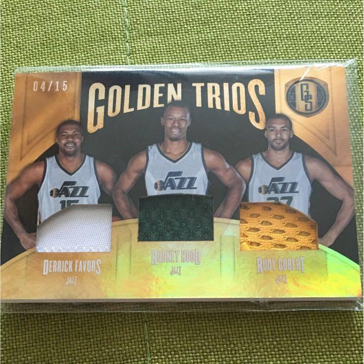 NBA JAZZ トリオパッチ グッズの画像