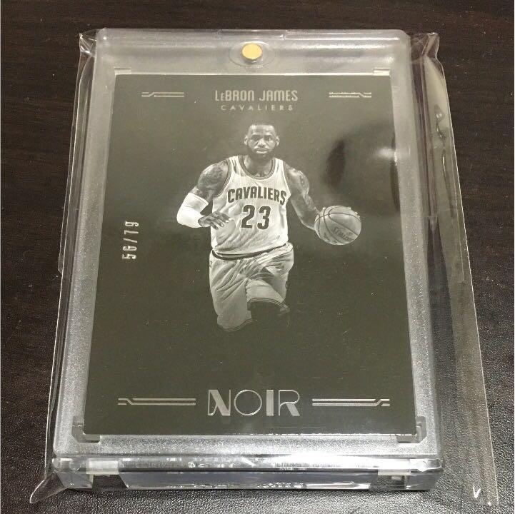 NBA Noir レブロン black&white 79シリベースカード グッズの画像