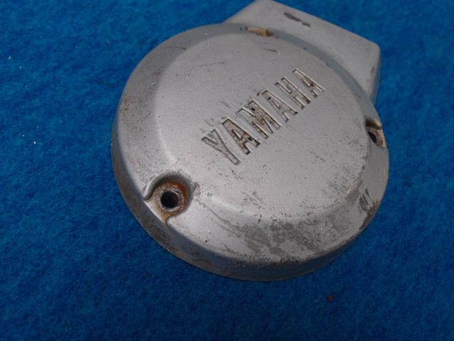 ヤマハMR50 長期放置車の部品 エンジンカバー左 ジェネレーターカバー売り切りです。_画像2