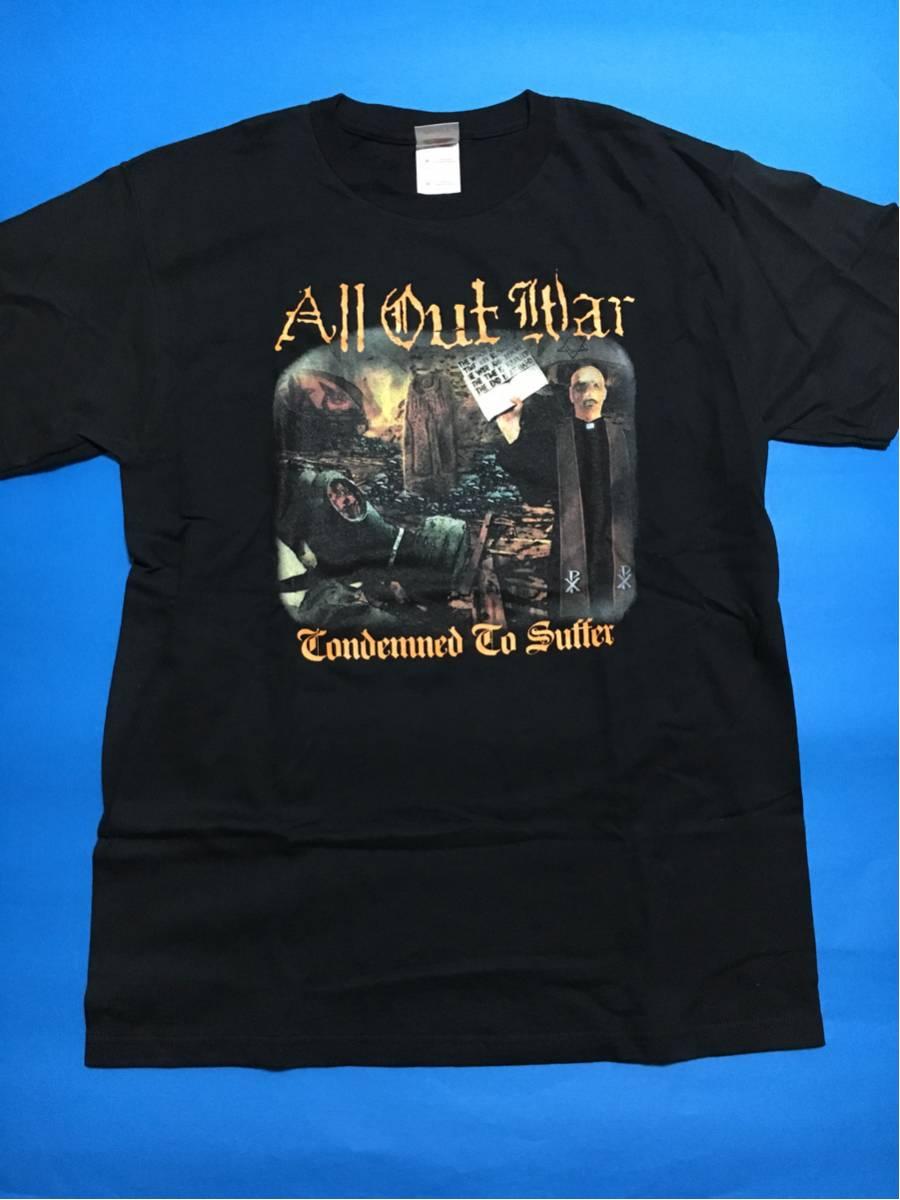 all out war ヴィンテージTシャツ/バンド.メタルコア.CD.DVD,ニュースクール,デスコア,NYHCハードコア.来日.フェス.ライブhardcore.usa