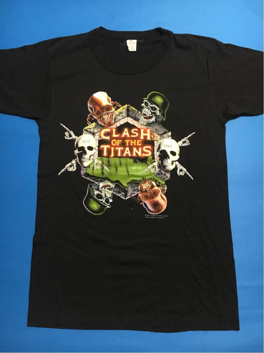 91年SLAYER.anthrax.megadethツアーTシャツ オリジナル/ヴィンテージバンドT.メタル.alice in chainsメタリカsupreme,fear of god.usa古着