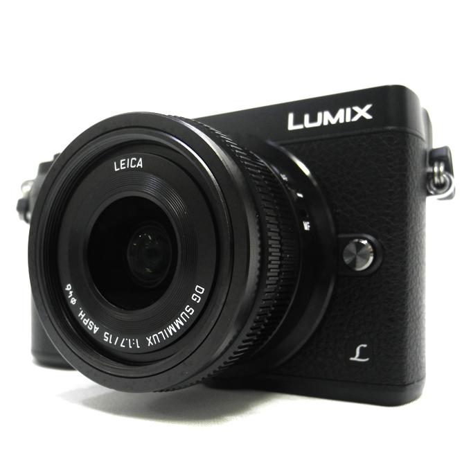 【極上美品】 Panasonic パナソニック ミラーレス 一眼カメラ DMC-GX7MK2L LUMIX 単焦点ライカDGレンズキット ブラック ★保障証付