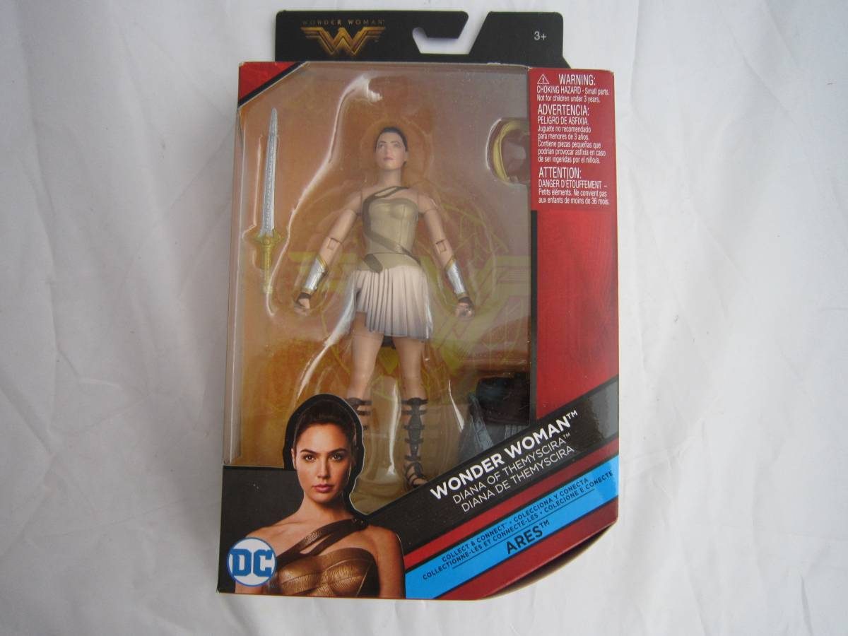 ワンダーウーマン DCコミックス マルチバース 6インチ ダイアナ・オブ・セミシラ 並行輸入品 未開封品です。 グッズの画像