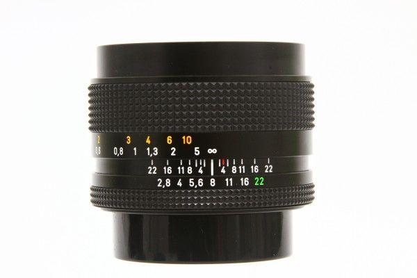 CONTAX コンタックス Distagon F2.8 35mm T* Carl Zeiss MMJ 748万台 広角レンズ 単焦点 美品 送料無料