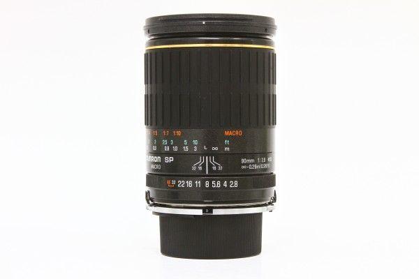 TAMRON タムロン SP MACRO 90mm F2.8 72B ニコン用 中望遠レンズ 単焦点 一眼レ送料無料フカメラ用 交換レンズ 送料無料 1円オークション