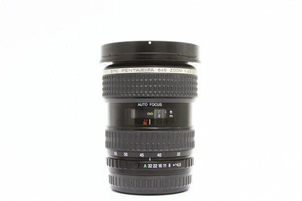 PENTAX ペンタックス smc PENTAX-FA 645 ZOOM 33-55mm F4.5 AL 広角 ズームレンズ 中判カメラ用 交換レンズ 送料無料 1円オークション