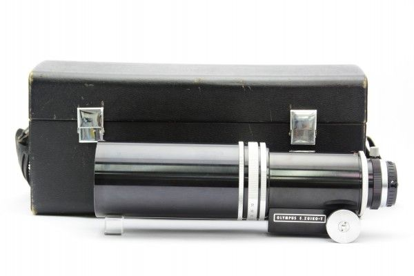 OLYMPUS オリンパス E.Zuiko-T 400mm F6.3 単焦点 超望遠レンズ ズイコー ペンFシリーズ用 希少 送料無料 1円オークション