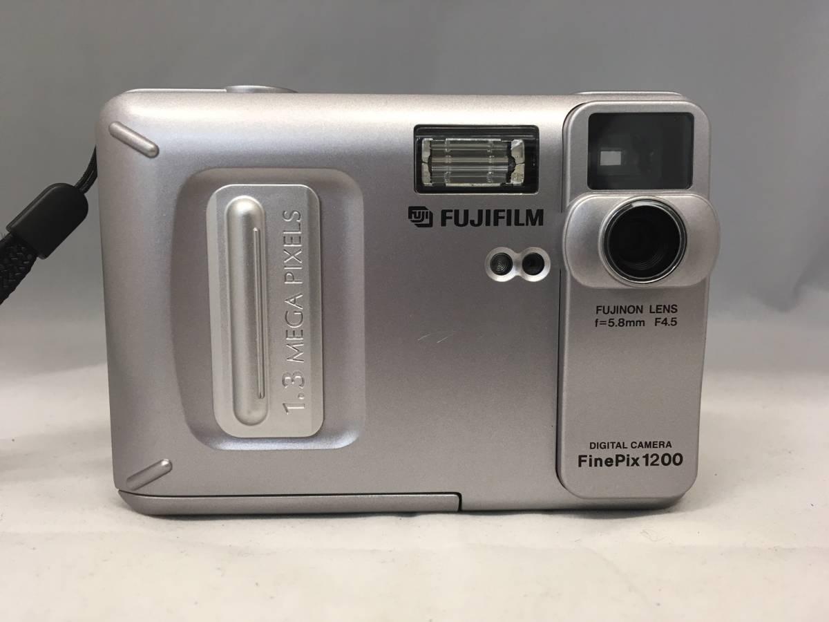 〇 FUJIFILM FINEPix1200 コンパクトデジタルカメラ  〇