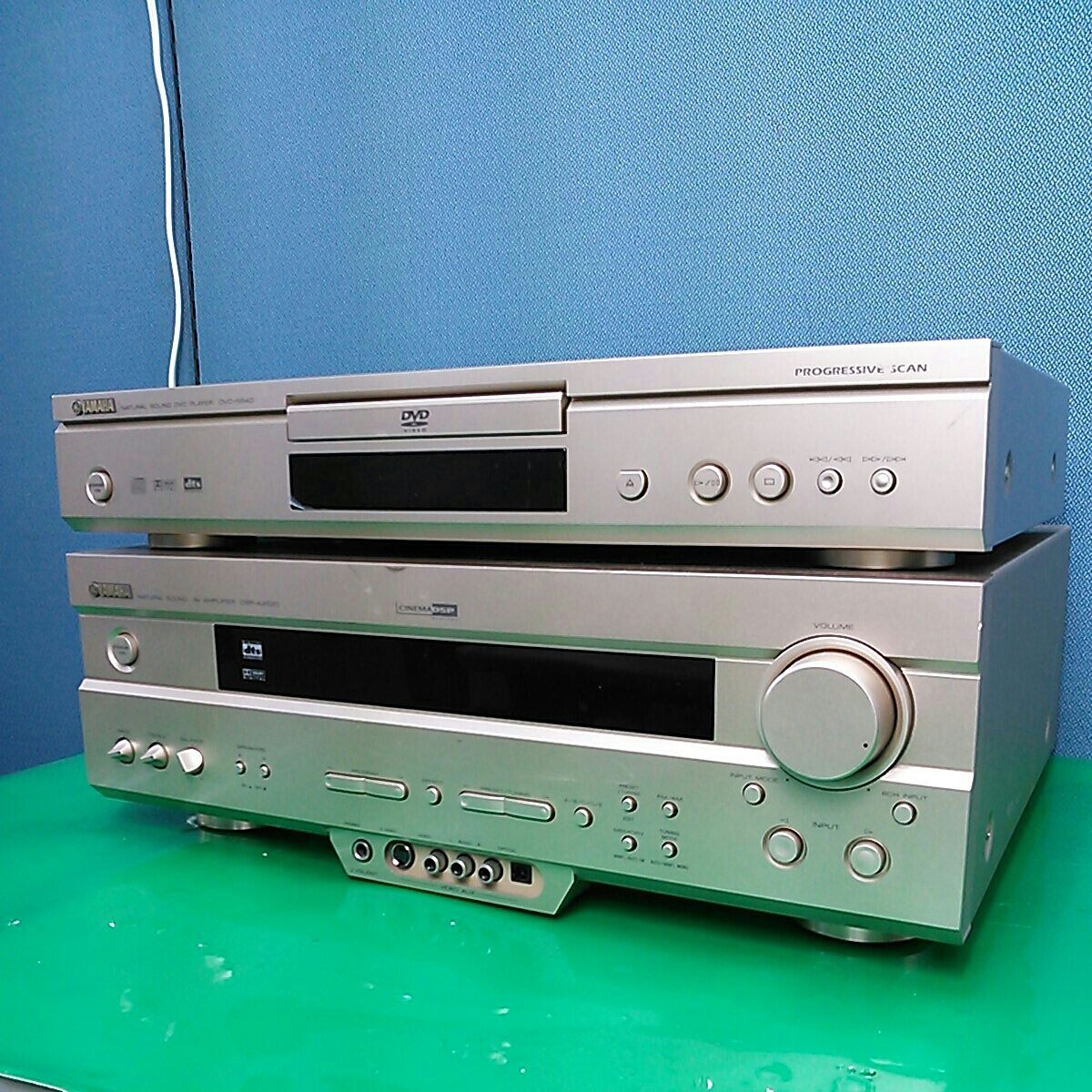 YAMAHA home theater * audio Yamaha DSP AV amplifier DSP-520.DVD ...