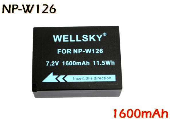 新品 Fujifilm 富士フイルム NP-W126 / NP-W126S 互換バッテリー X-T1 / X-Pro1 / X-M1 / X-E2 / X-E1 / X-A2 / X100F / X-T20 / X-H1 X-T3_純正品と同じよう使用可能