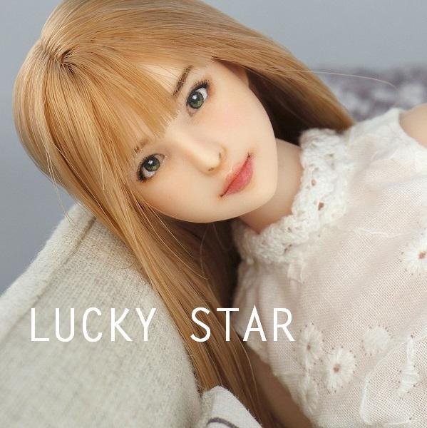 【LUCKY STAR】 1/6カスタムドールヘッド「 彩香 さやか 」