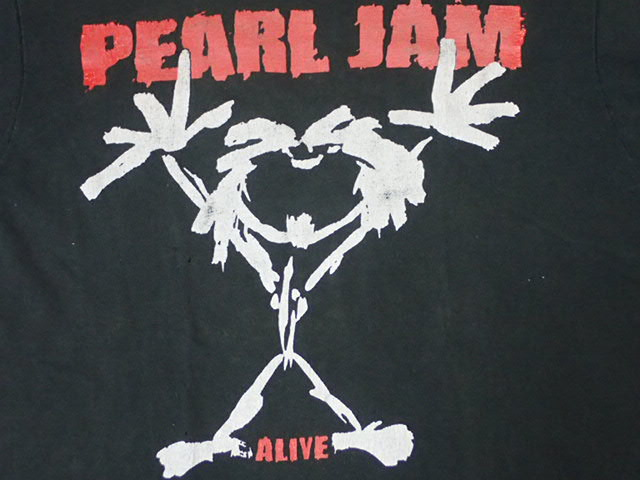 【 90S PEARL JAM 】 ヴィンテージ Tシャツ パールジャム 黒 シングルステッチ / nin nirvana alice in chains sound garden