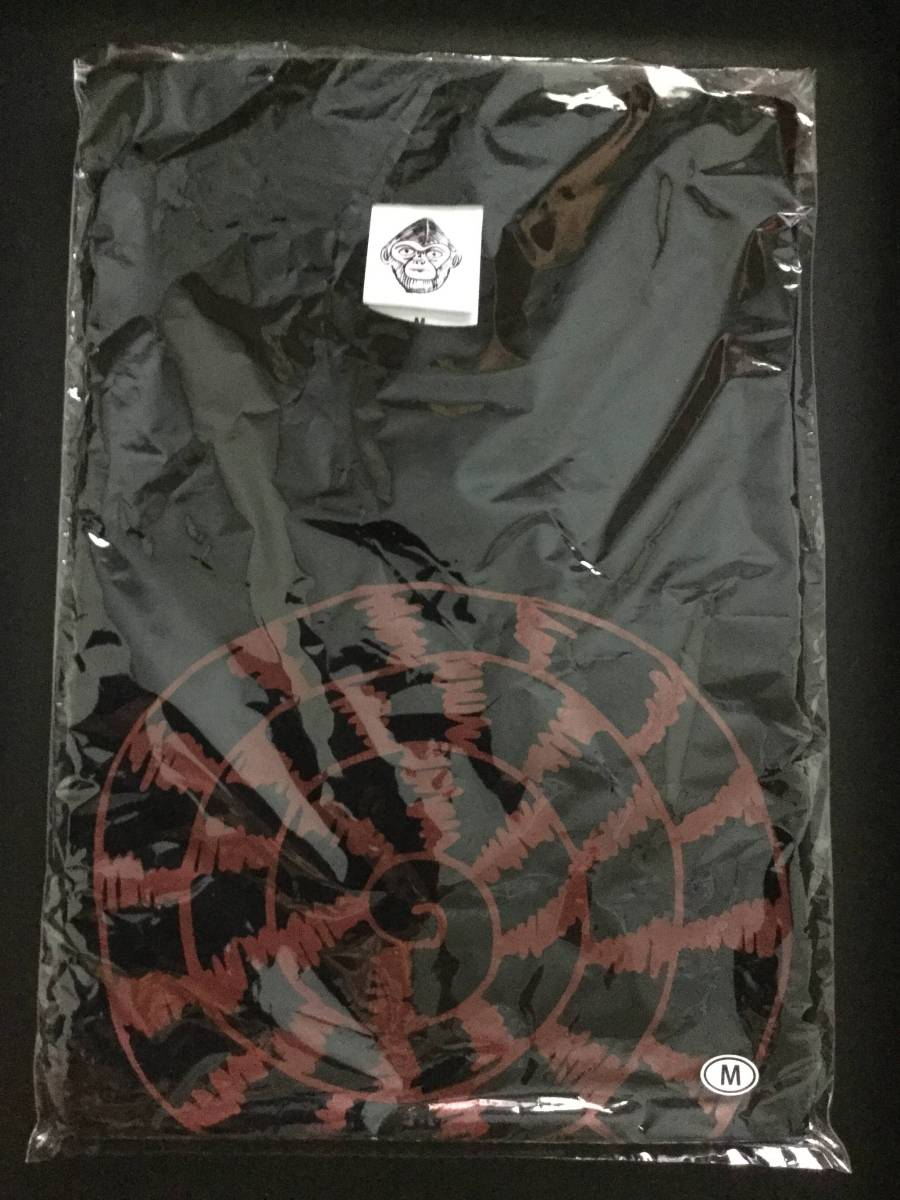クロマニヨンズ ツアーTシャツ ビンボロール 黒 M