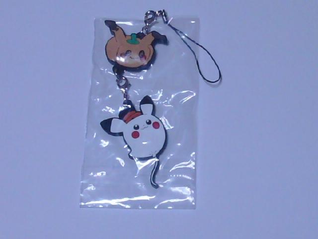 パンプキンミミッキュ&ゴーストピカチュウ 「ポケットモンスター ラバーストラップコレクション Pokemon Halloween Time」_画像1