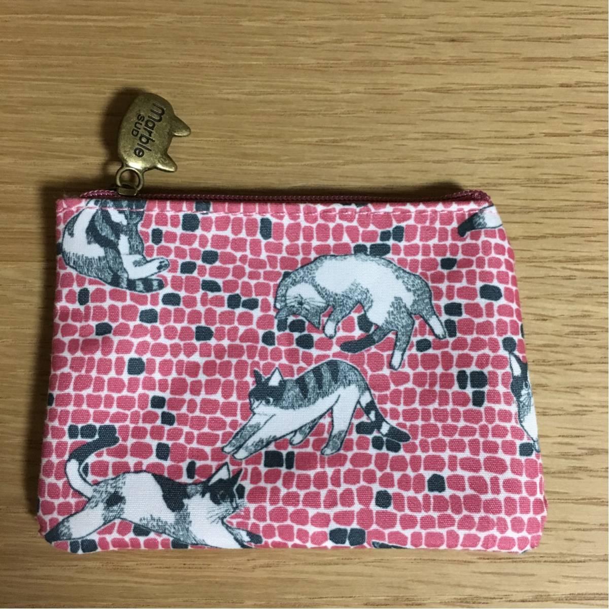 マーブルシュッド☆リンネル2016.11月号付録☆猫の小物入れ☆未使用☆B_画像1