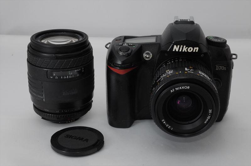 Nikon D70S レンズ2本セット